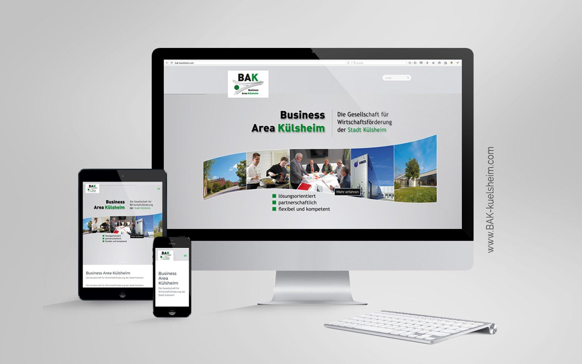 Responsive Webdesign - Website mit CMS